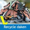 Recycle daken